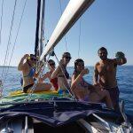 Esperienze escursione in barca a vela giromar mola di bari puglia09
