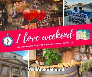 I love weekend by visit mola di bari