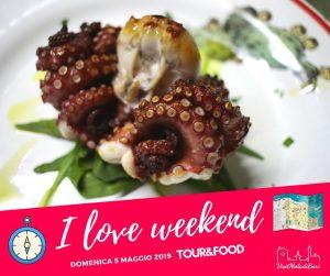 I love weekend by visit mola di bari tour and food