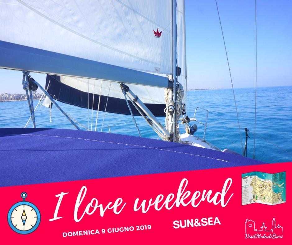 Sun & Sea I love weekend visit mola di bari puglia