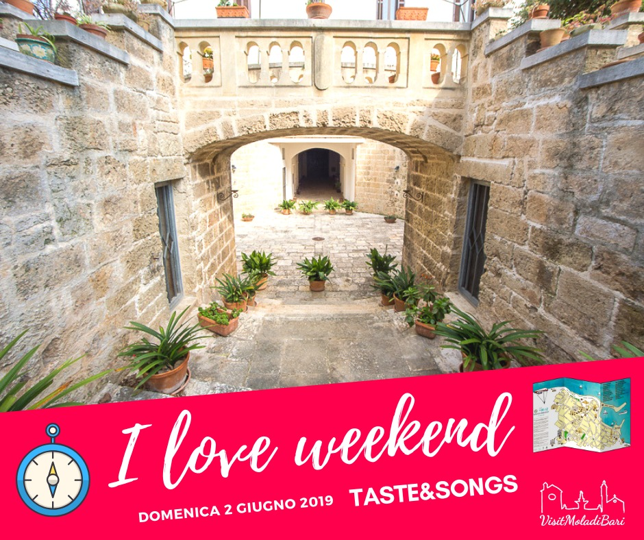Taste and songs Visit mola di bari i love weekend puglia