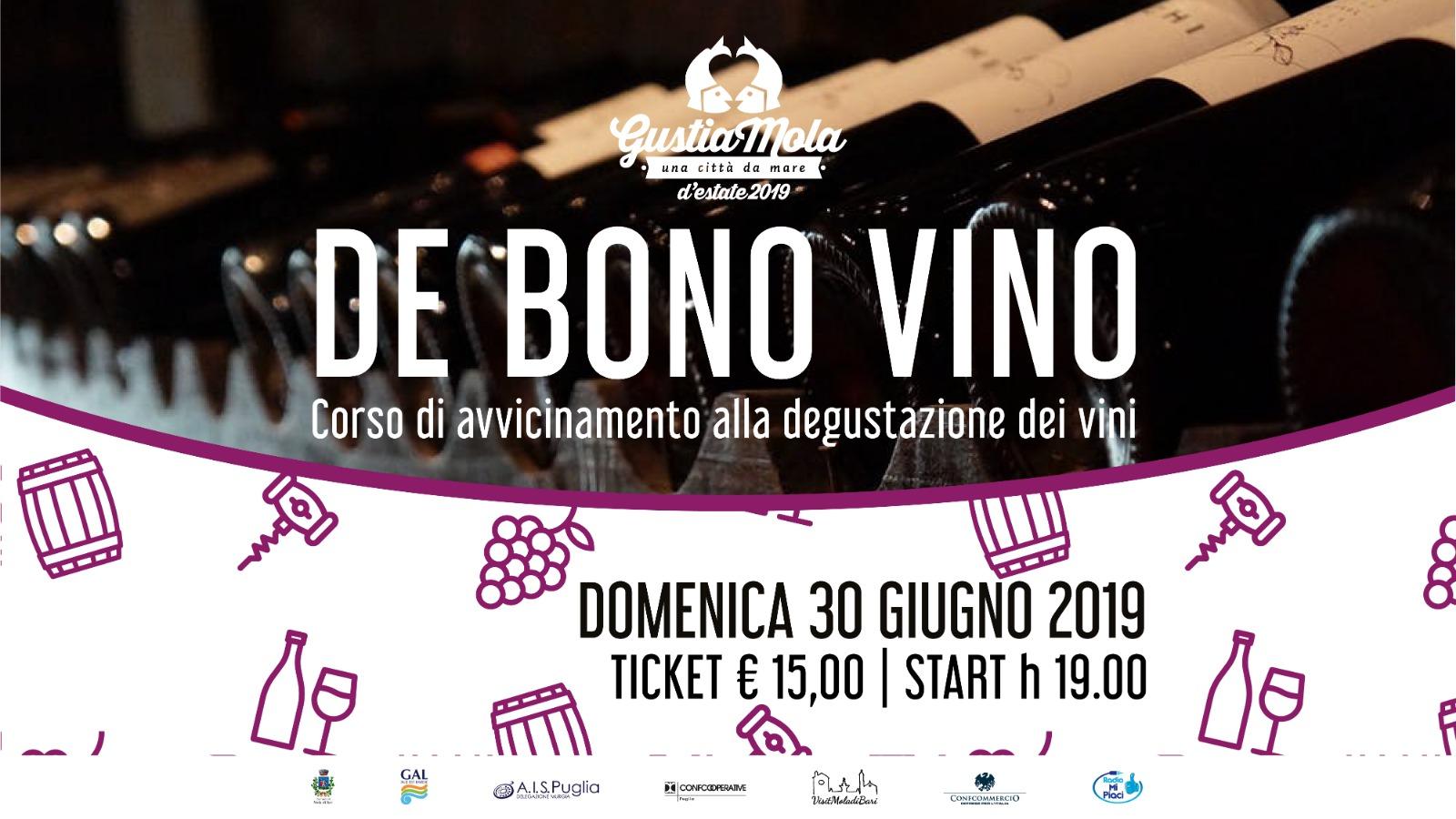 De bono vino GustiaMola 2019 Visit Mola di Bari Puglia