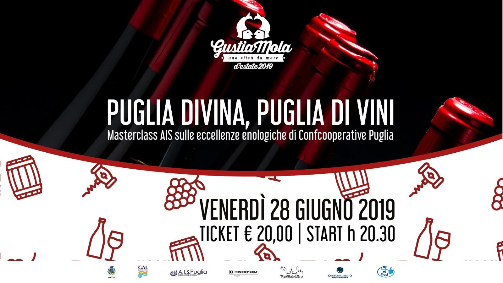 Puglia divina Gustiamola 2019 Visit Mola di Bari Puglia