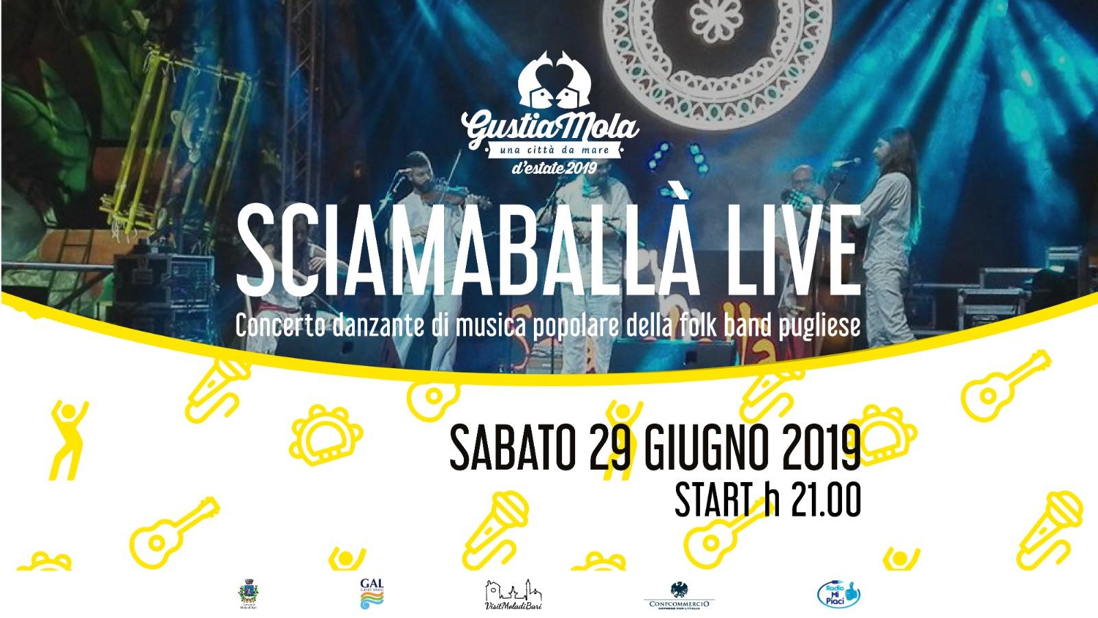 Sciamaballà Gustiamola 2019 Visit Mola di Bari Puglia