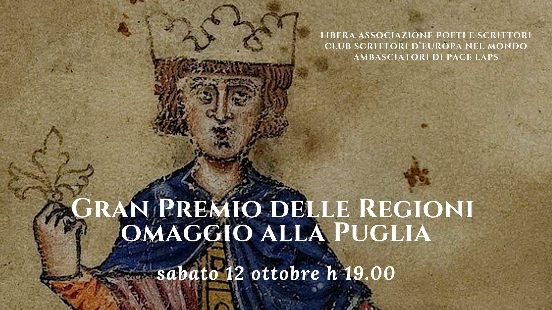 Gran Premio delle Regioni omaggio alla Puglia