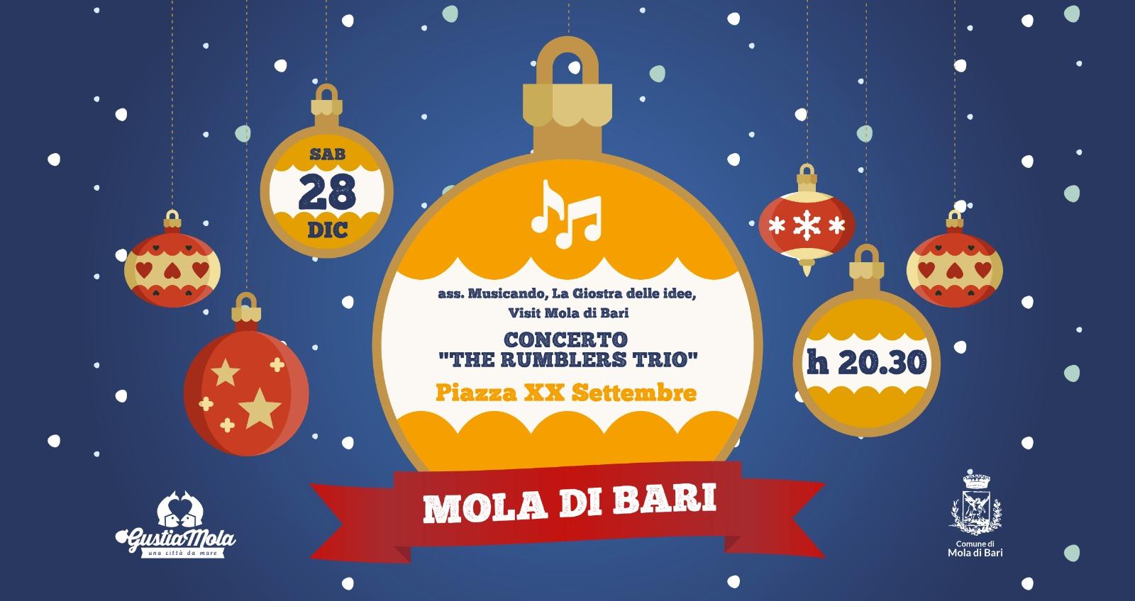 28 dicembre 2019 The Rumblers Trio Gustiamola 2019