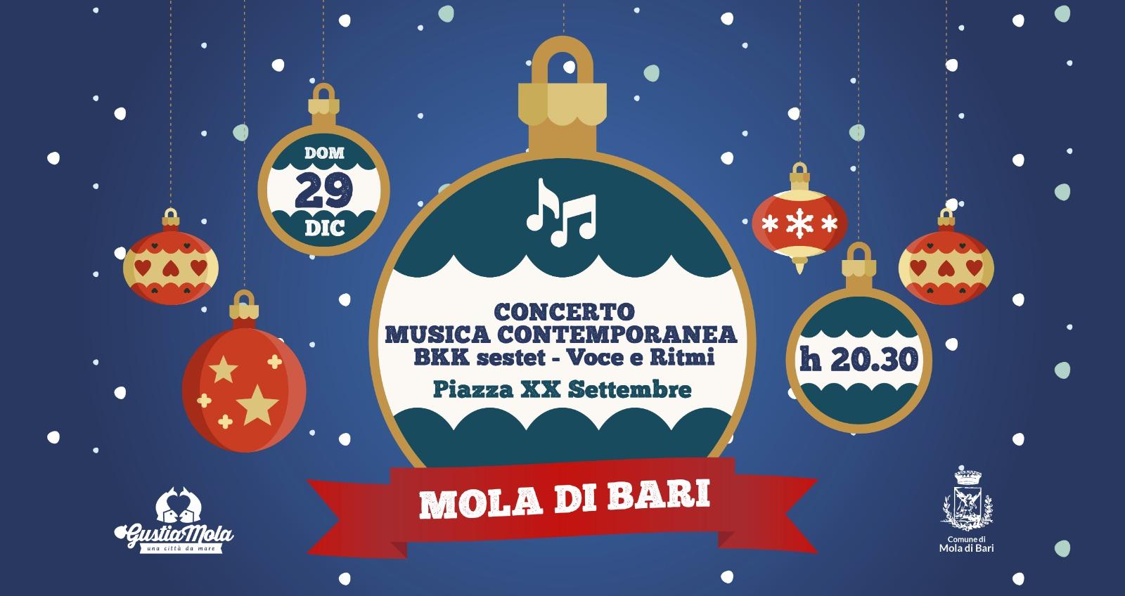 BKK Sestet Gustiamola 2019 Mola di Bari