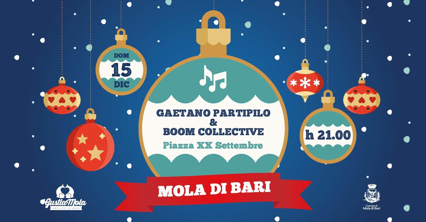 Gaetano Partipilo & Boom Collective 15 dicembre Gustiamola 2019