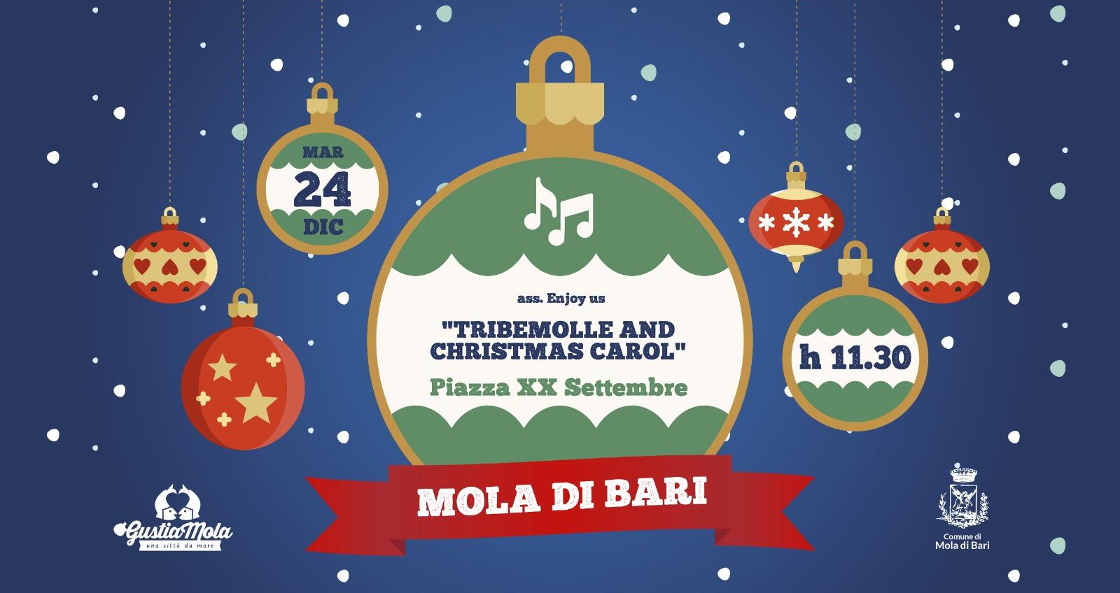 Tribemolle 24 dicembre 2019 Gustiamola Mola di Bari