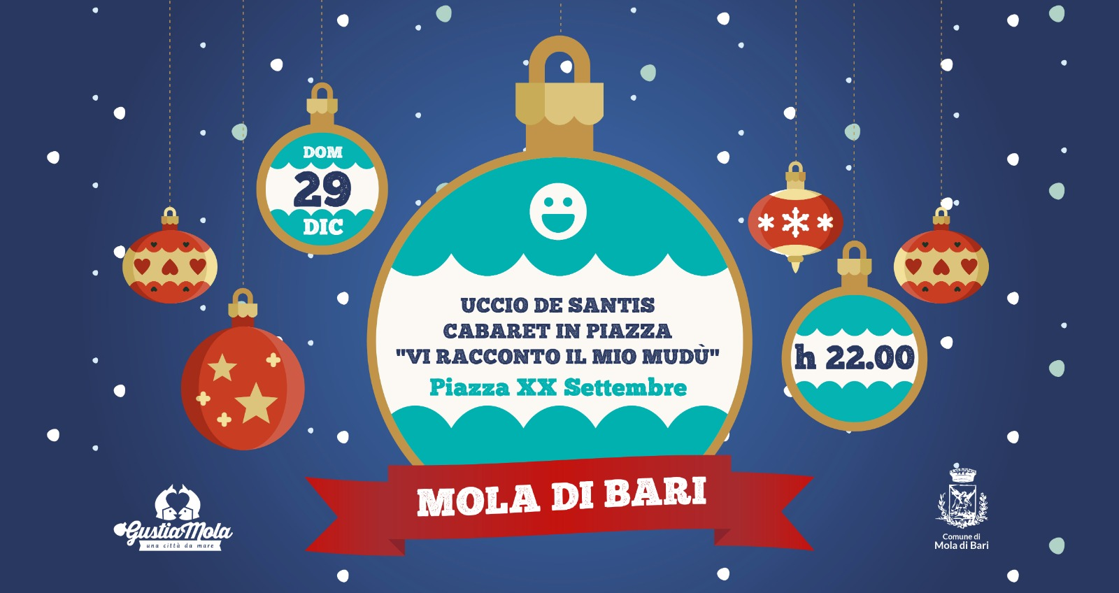 Uccio De Santis Mudù Gustiamola 2019 Mola di Bari